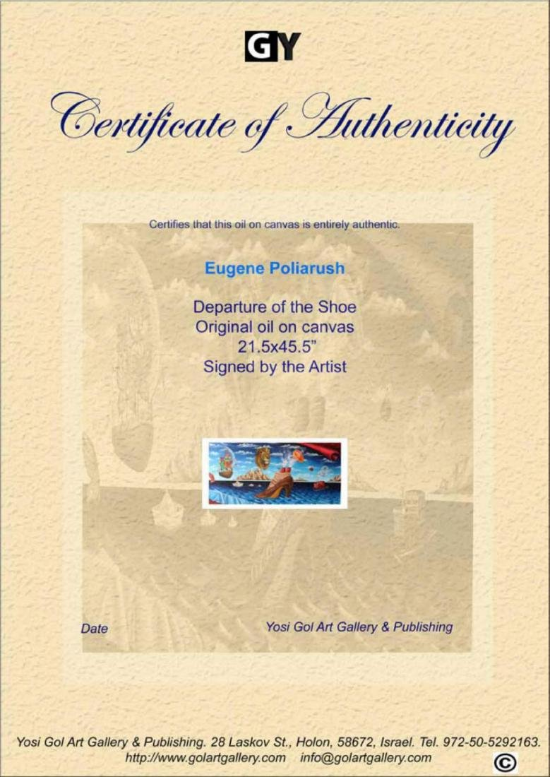 Eugene Poliarush ORIGINAL OIL Departure of the Shoe - 3