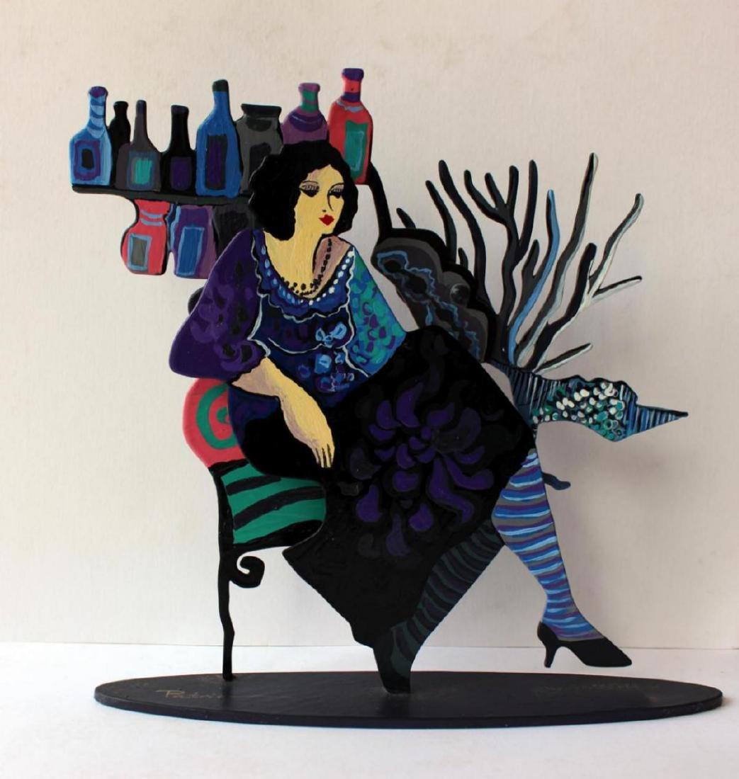 Patricia Govezensky Original Table Sculpture 3D cutout