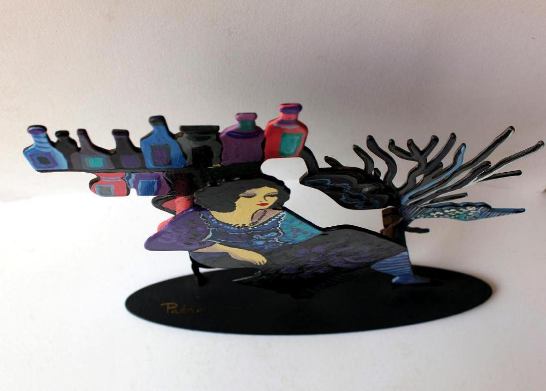 Patricia Govezensky Original Table Sculpture 3D cutout - 4