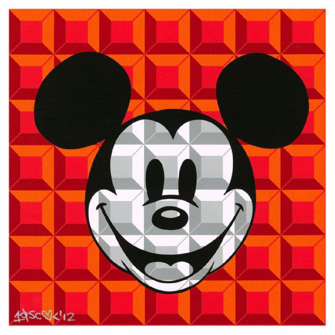 "Tennessee Loveless - ""8-Bit Block Mickey (Red)"" Limited"