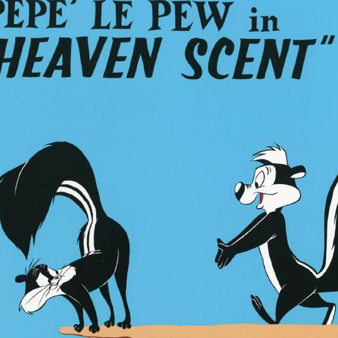 "Chuck Jones ""Heaven Scent"" Limited Edition Lithograph. - 2"