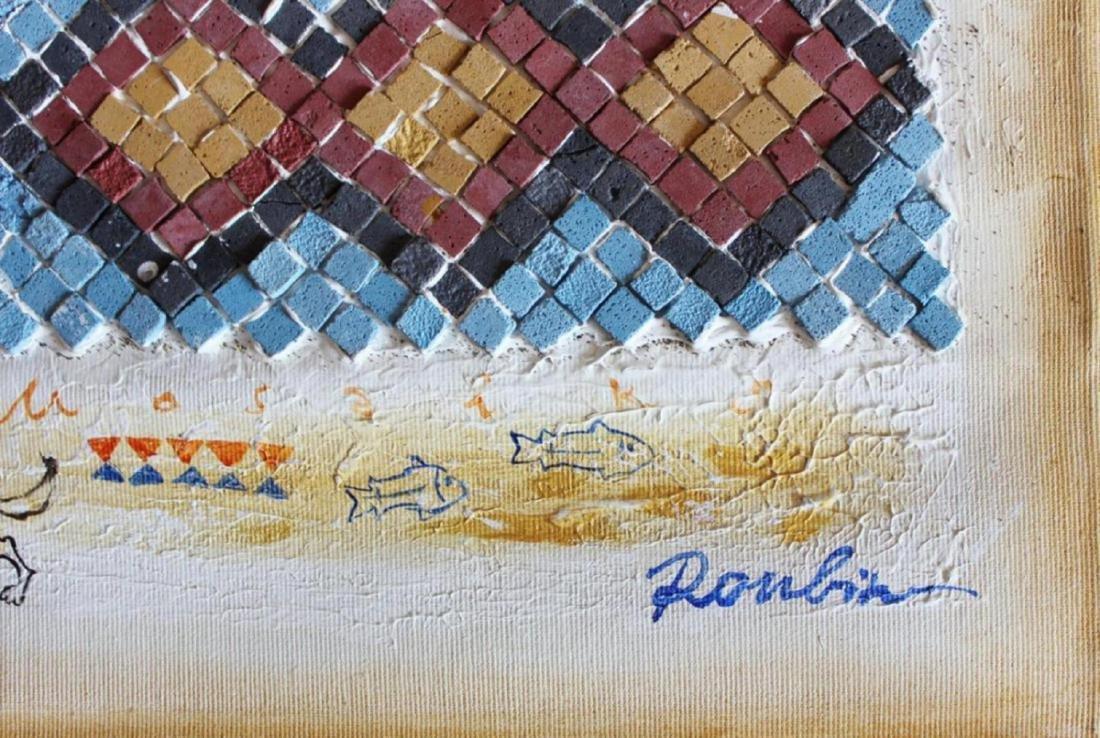 "Olga Roubin Original Acrylic on Canvas | 19.5"" x 13.5"" - 2"