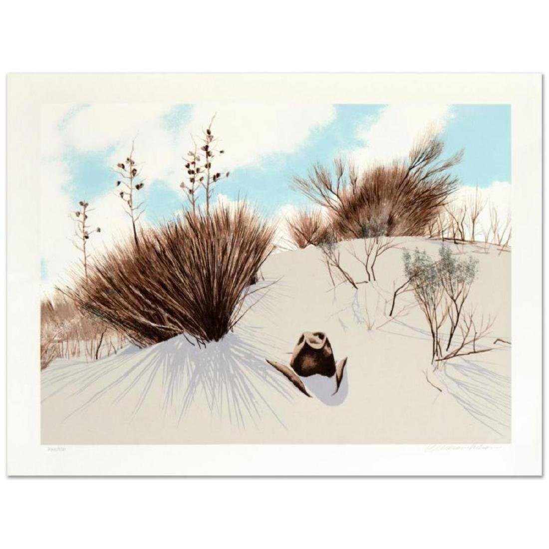 """William Nelson - """"Lost Hat"""" Limited Edition Serigraph,"""