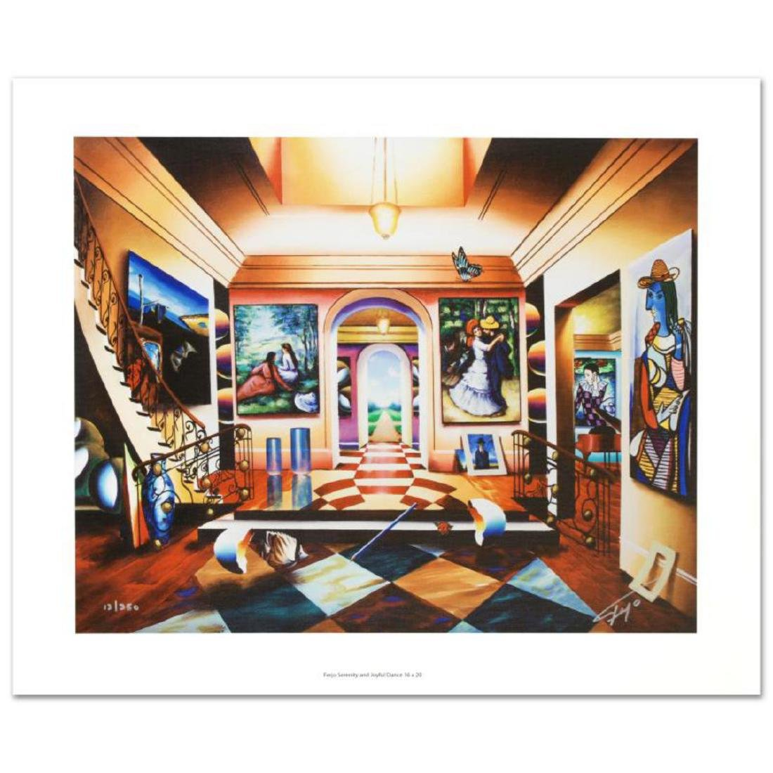 """""""Serenity and Joyful Dance"""" Limited Edition Giclee on"""