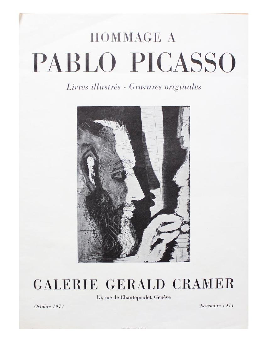 Pablo Picasso- Lithographic Poster