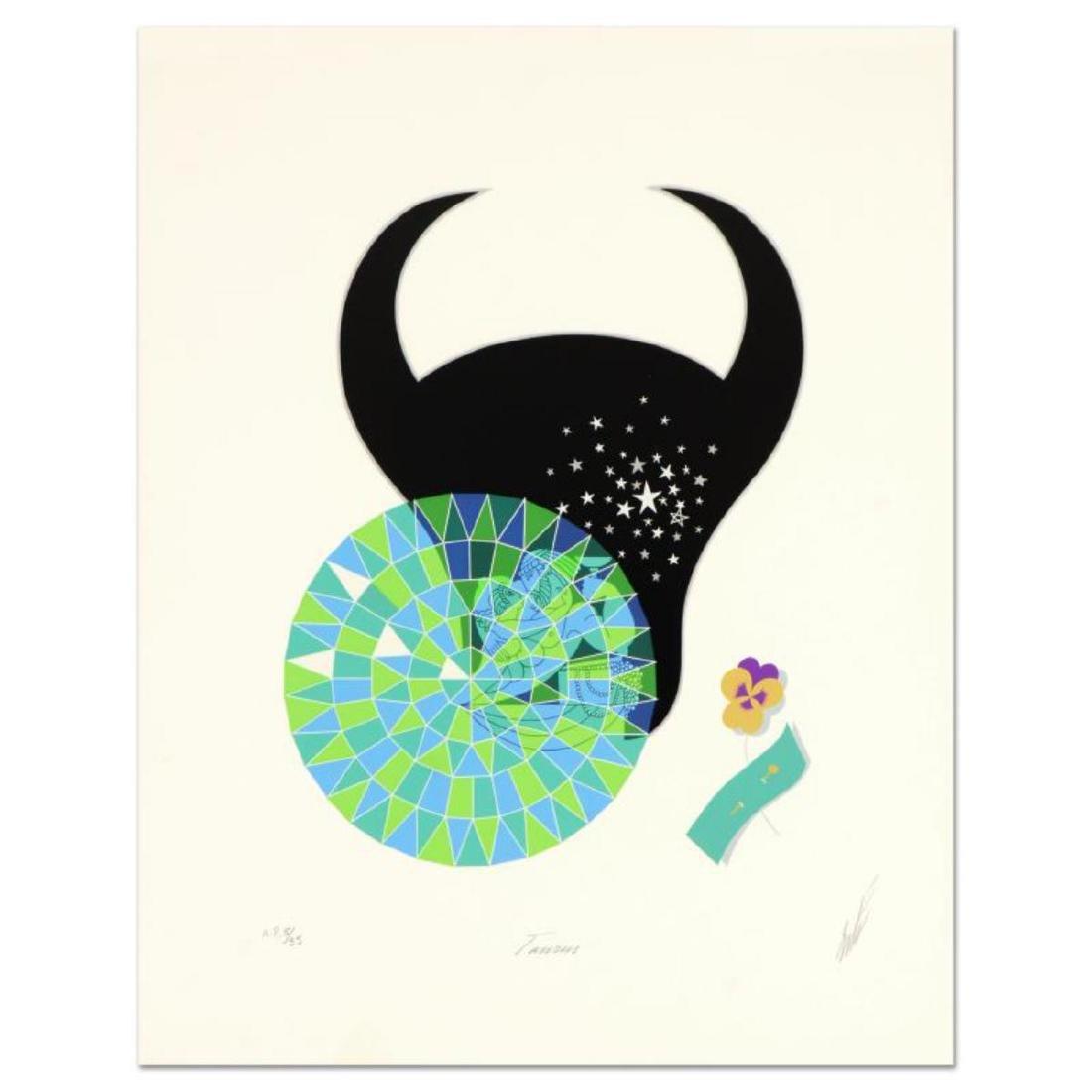 "Erte (1892-1990) - ""Taurus"" Limited Edition Serigraph,"