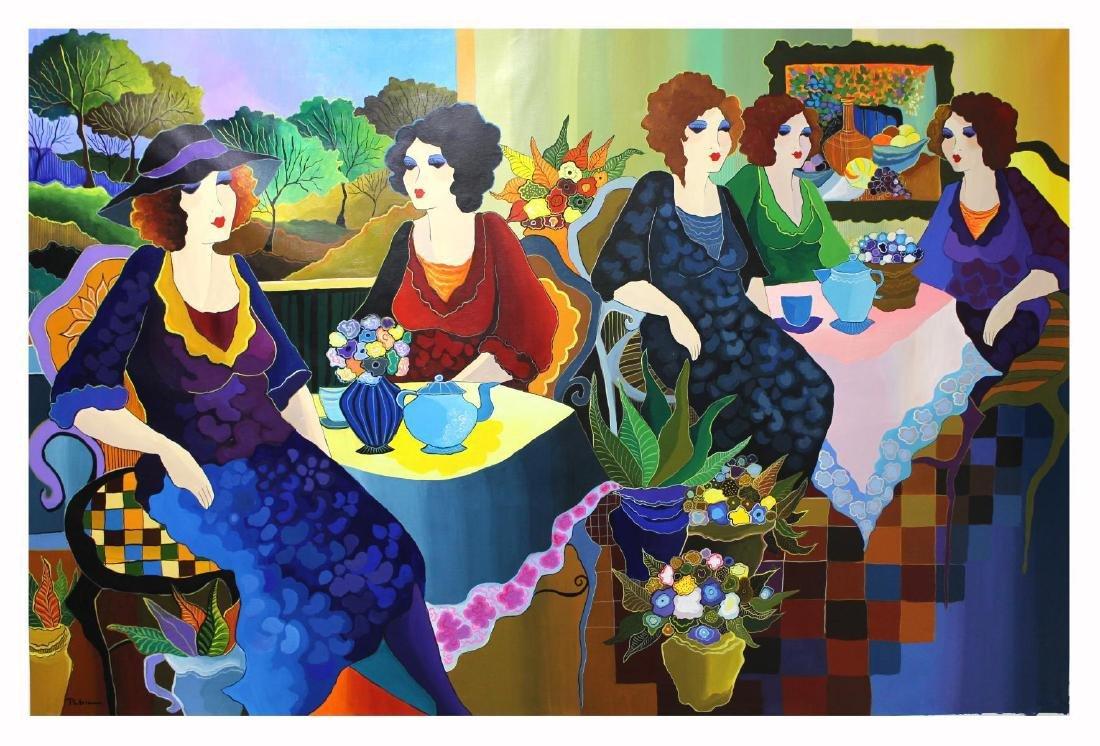 Patricia Govezensky- Original Acrylic On Canvas - 2