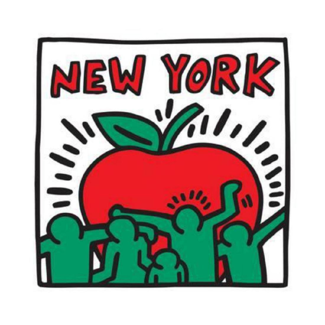 Keith Haring Untitled Pop Art - New York Offset