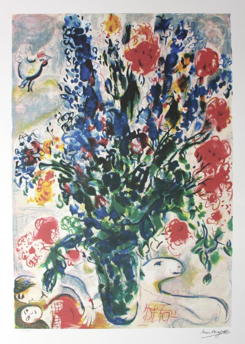 Marc Chagall- Lithograph