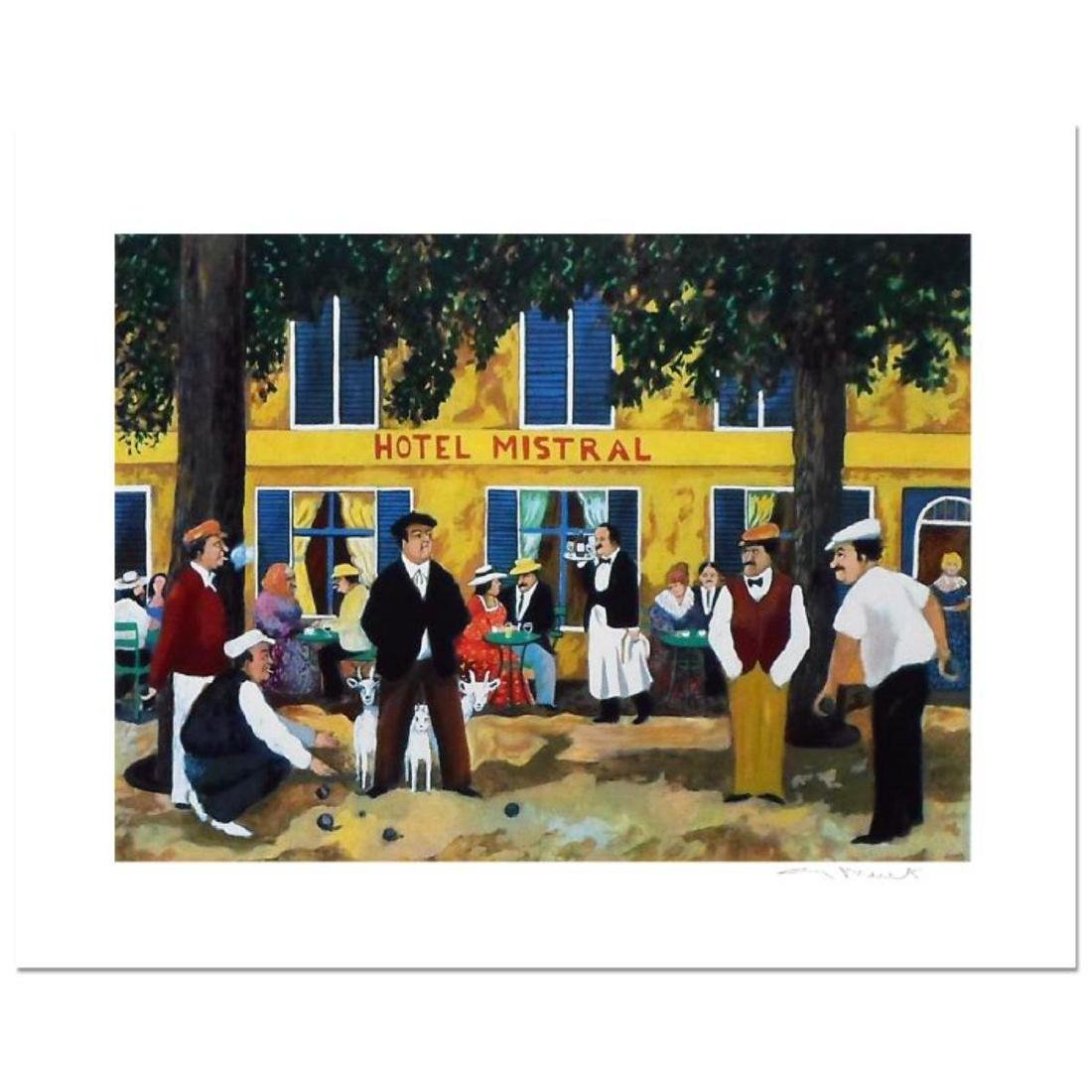 """Guy Buffet - """"Hotel Mistral"""" Limited Edition Serigraph;"""