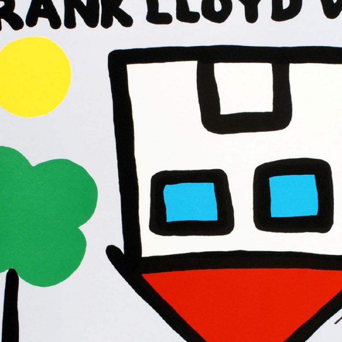 """""""Frank Lloyd Wrong"""" Limited Edition Lithograph by Todd - 2"""
