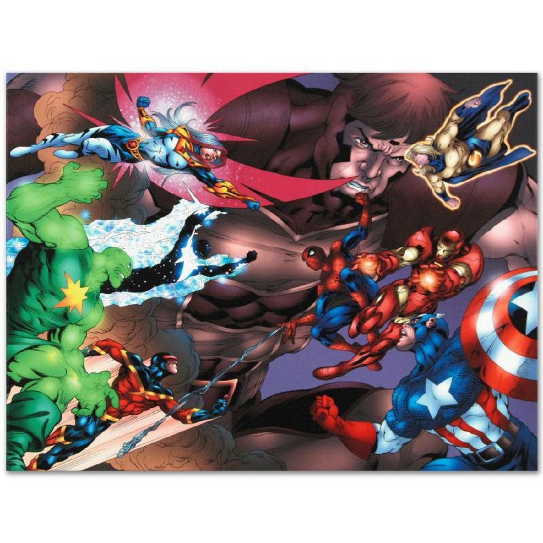 """New Thunderbolts #13"" Limited Edition Giclee on Canvas"