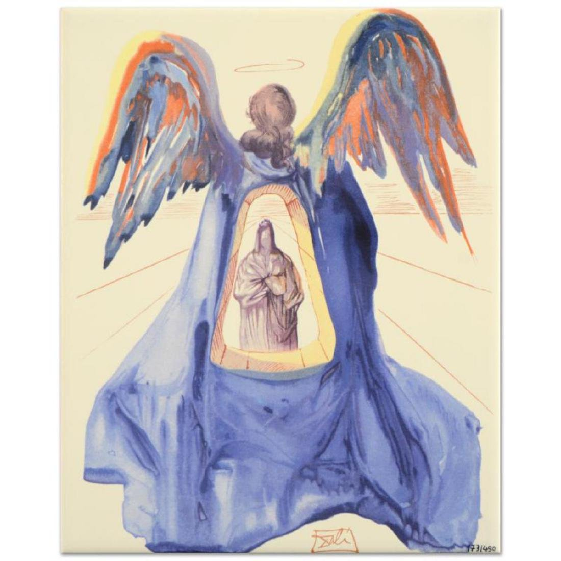 """Salvador Dali (1904-1989), """"Dante Purified"""" Sold Out"""