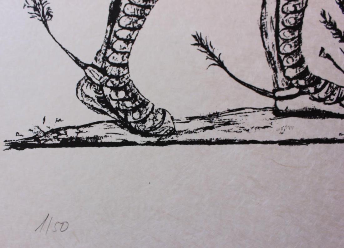 Salvador Dali- Original Lithograph from Gouache and - 4