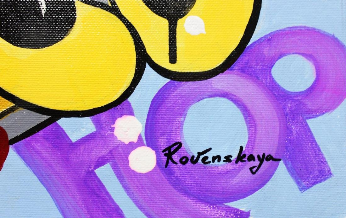 "Nastya Rovenskaya- Original Oil on Canvas ""America - 2"