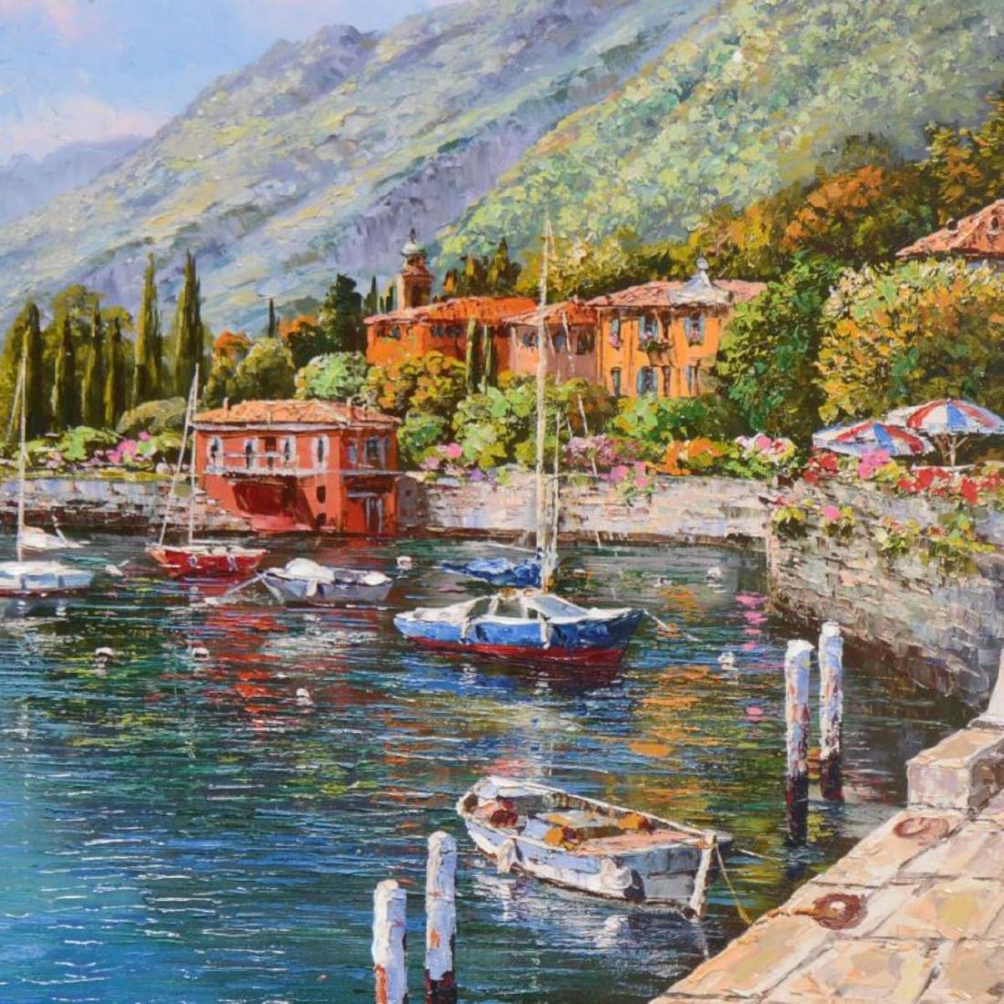 "Park, ""Lake Como"" Hand Embellished Limited Edition - 2"