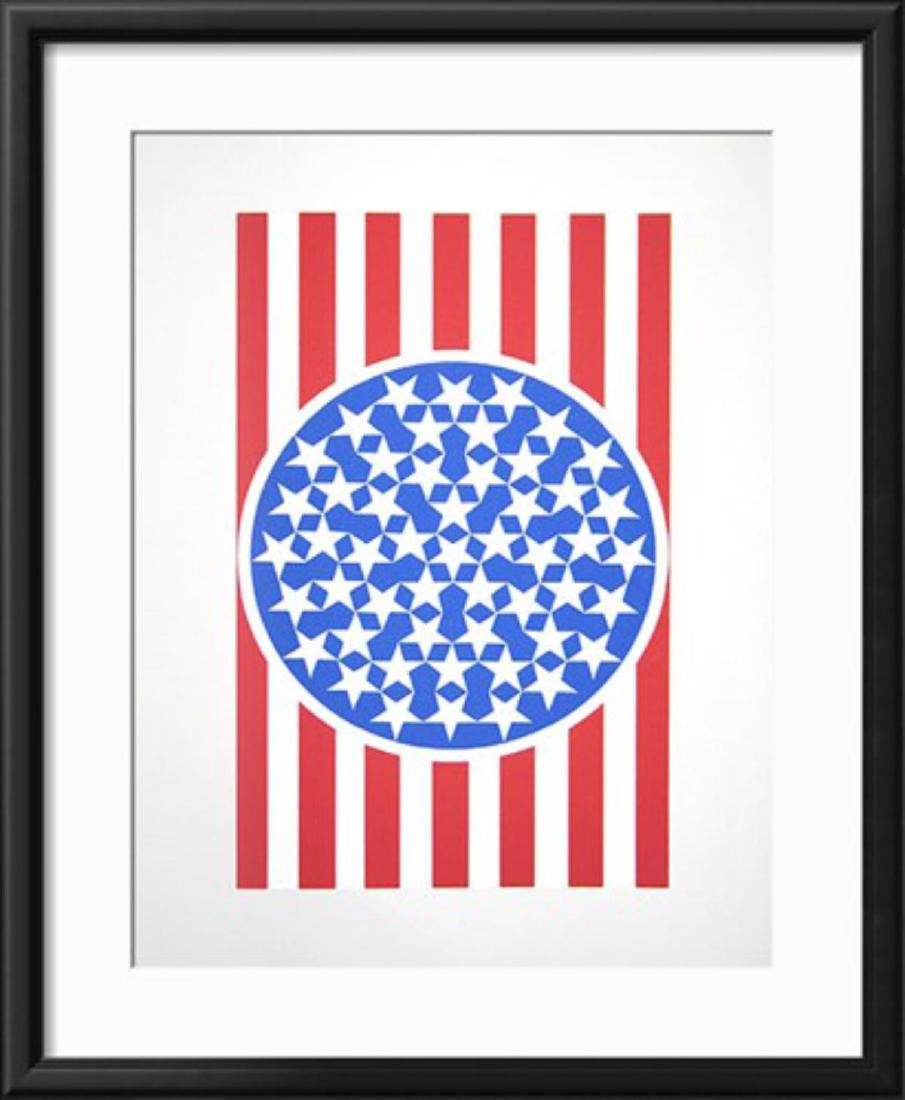 Robert Indiana- New Glory Banner 1 (from the American