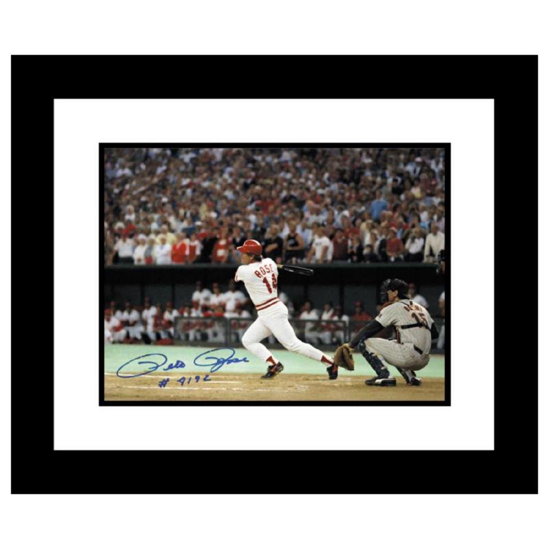 """""""Pete Rose 4192"""" - Framed Archival Photograph Featuring"""