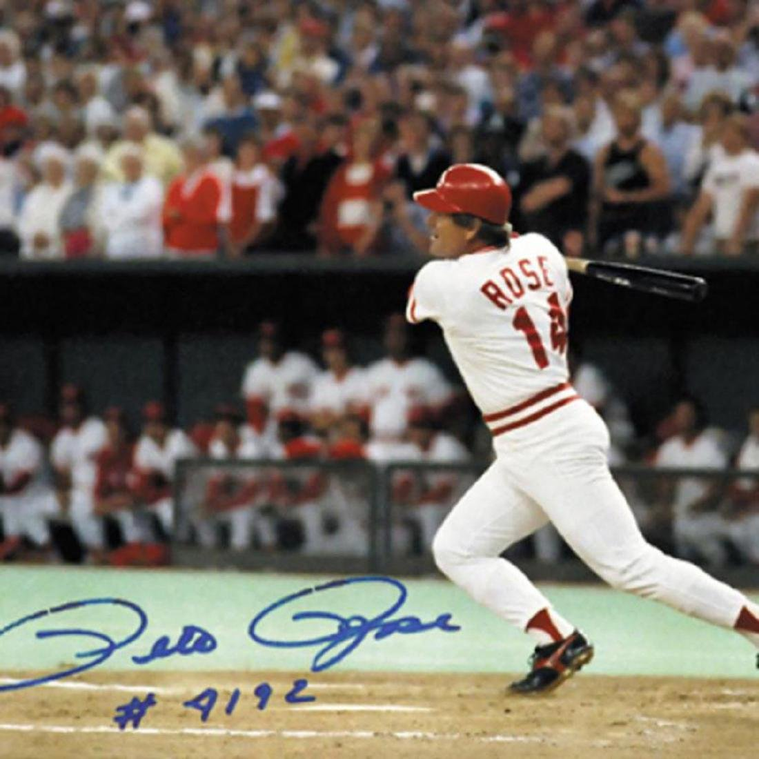 """""""Pete Rose 4192"""" - Framed Archival Photograph Featuring - 2"""