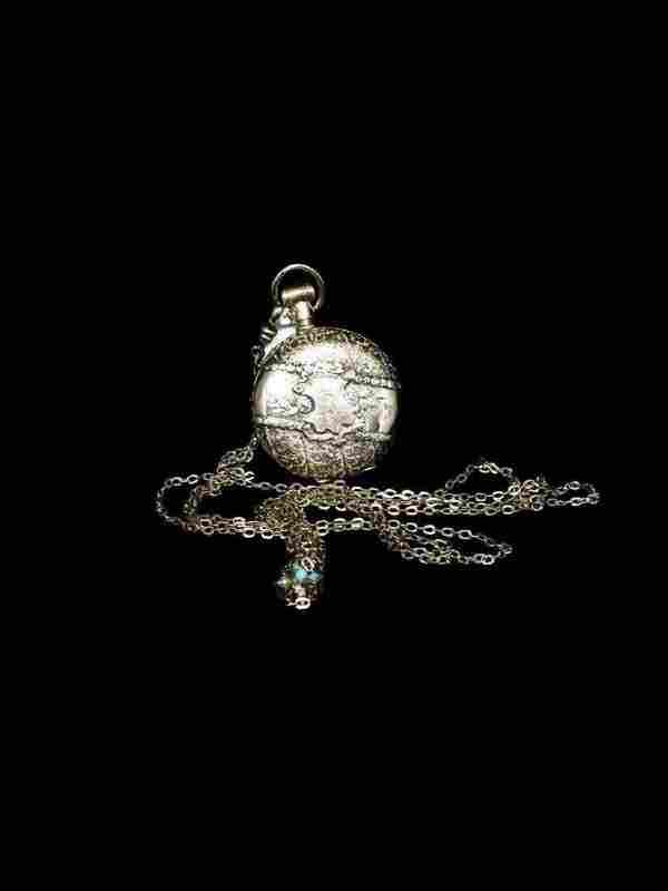14KT 1888 Elgin 6s 13j 4-Tone Pocket Watch w/GF FOB