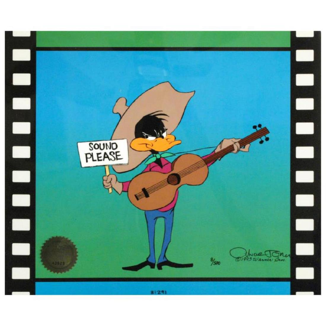 """""""Sound Please"""" by Chuck Jones (1912-2002). Sold Out"""