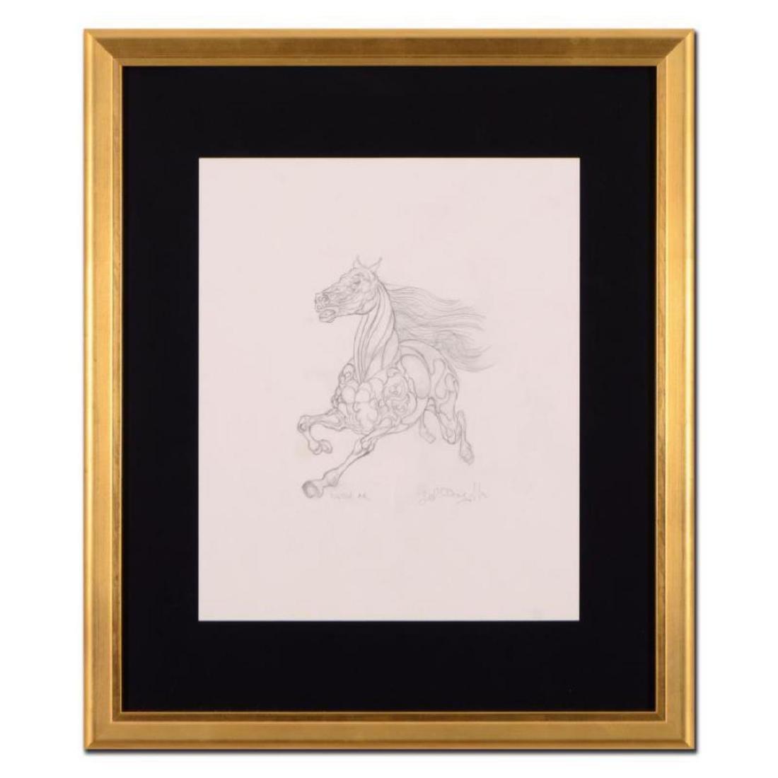 "Guillaume Azoulay - ""AR Sketch"" Framed Original"