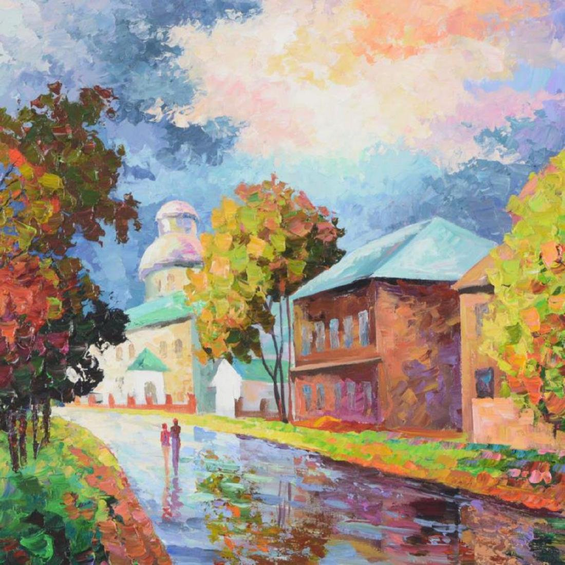 "Alexander Antanenka, ""Outskirts of the Village"" - 2"