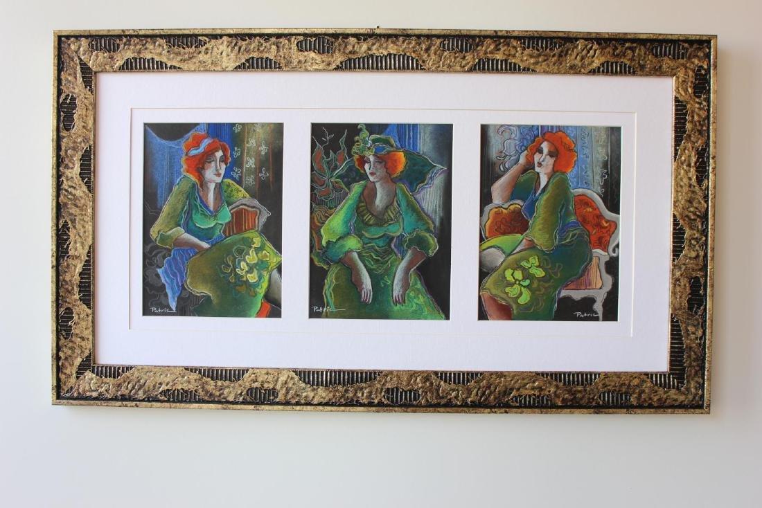 Patricia Govezensky- Original pastel color on paper