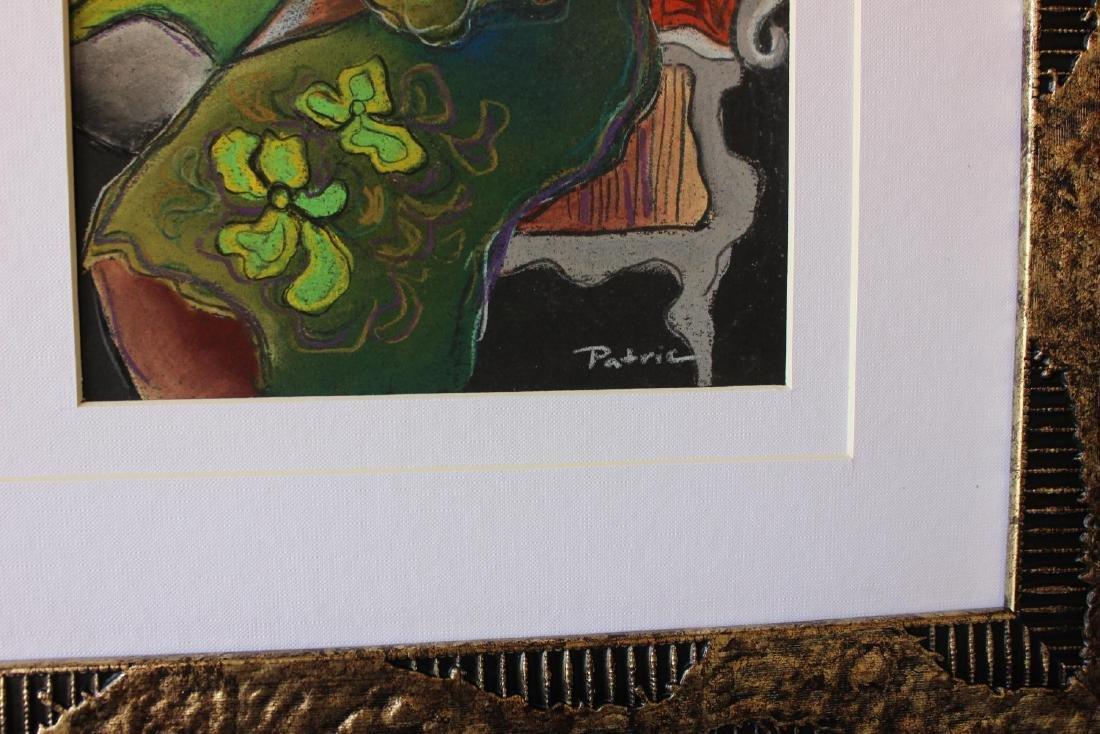 Patricia Govezensky- Original pastel color on paper - 2