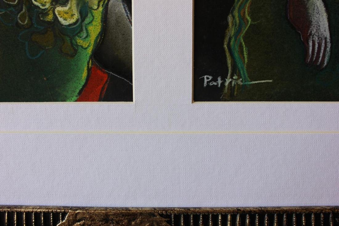 Patricia Govezensky- Original pastel color on paper - 3