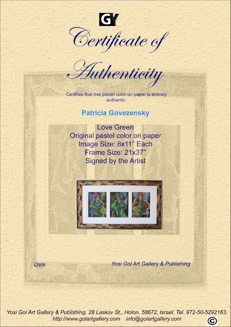 Patricia Govezensky- Original pastel color on paper - 5
