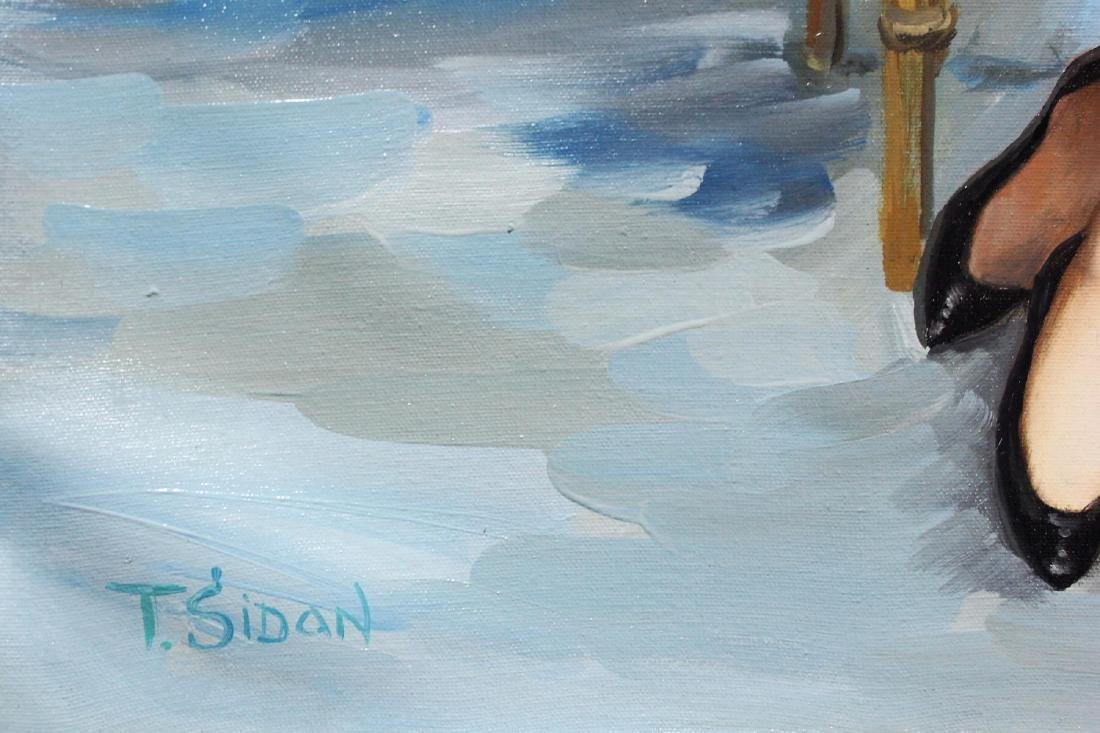 "Taras Sidan- Original Oil on Canvas ""Past Memory"" - 2"