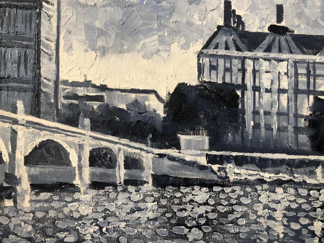 "Alexander Antanenka ""Big Ben, London"" Original Acrylic - 2"
