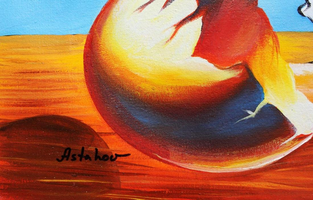 "Alexander Astahov- Original Oil on Canvas ""Dalmatians - 2"