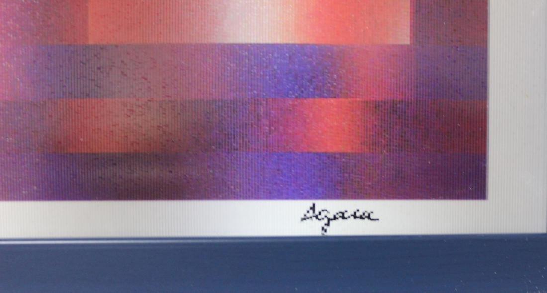 """Yaacov Agam- Agamograph """"UNTITLED"""" - 3"""