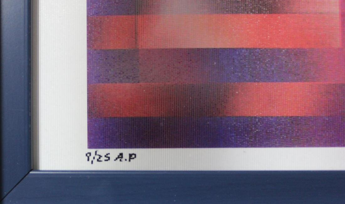 """Yaacov Agam- Agamograph """"UNTITLED"""" - 4"""