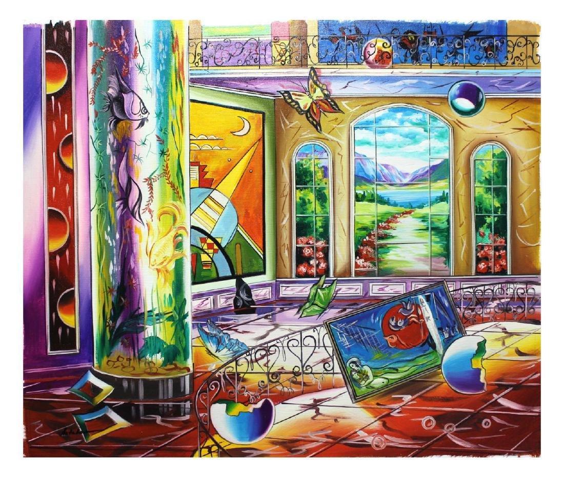 "Alexander Astahov- Original Oil on Canvas ""The"