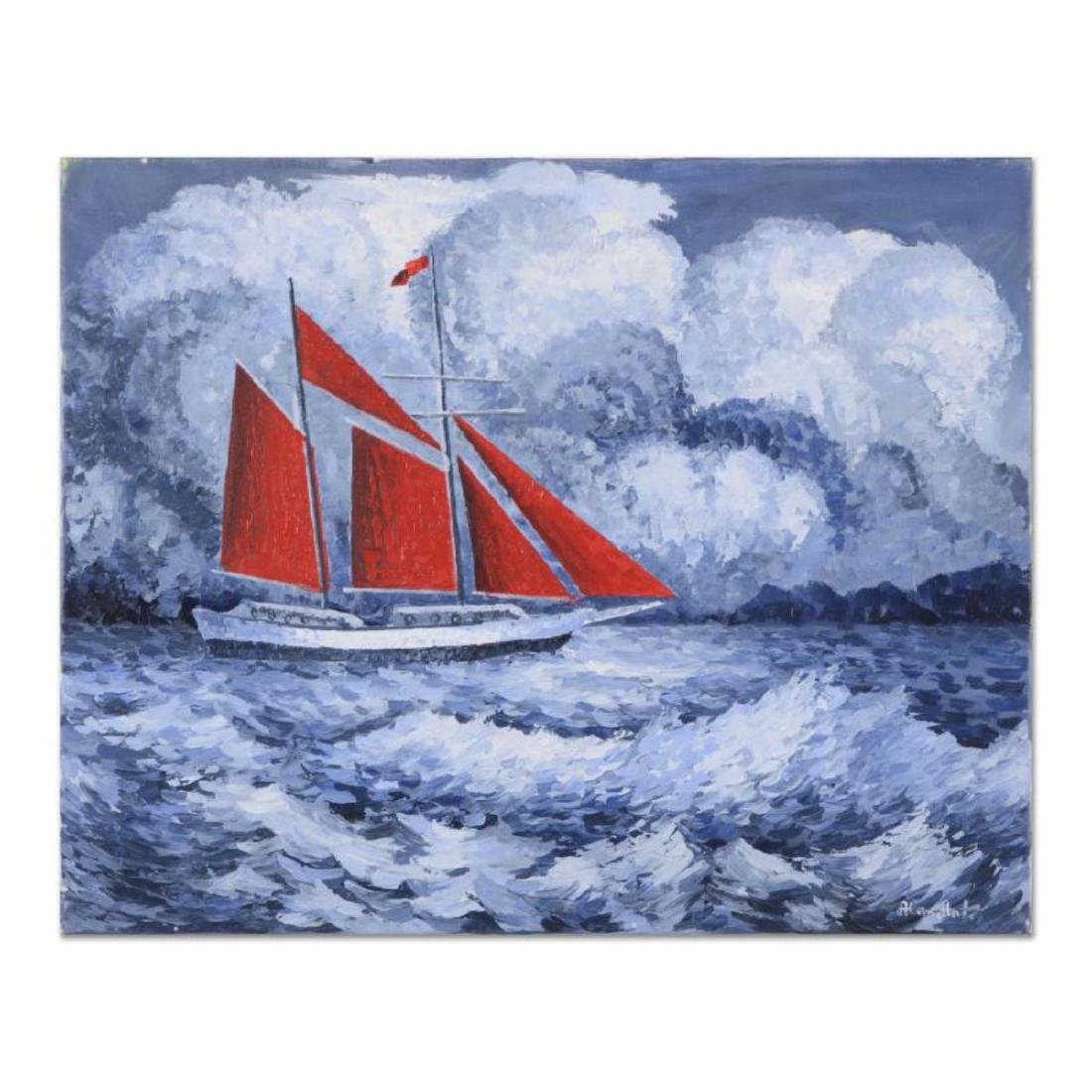 "Alexander Antanenka, ""A Storms A Brewing"" Original Oil"