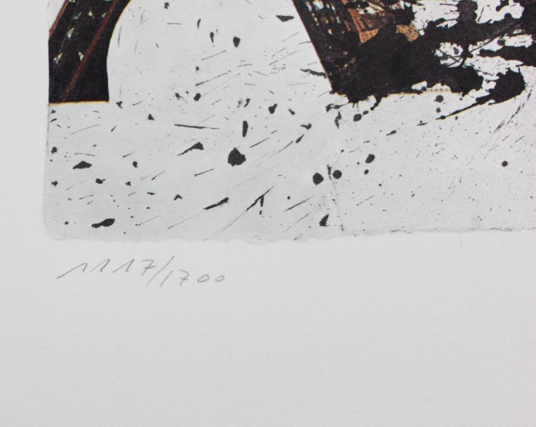 """Salvador Dali- Original Lithograph """"Paris"""" - 3"""