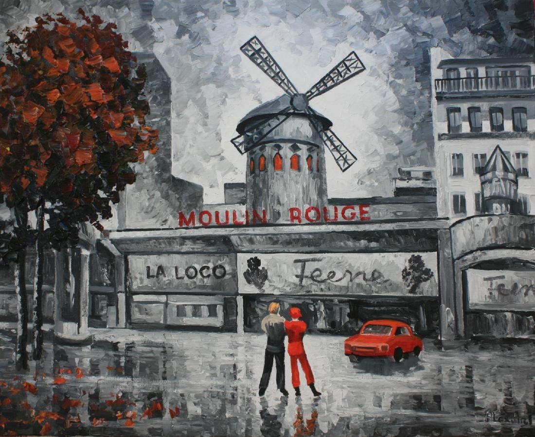 "Alexander Antanenka ""Moulin Rouge"" Original Acrylic on"