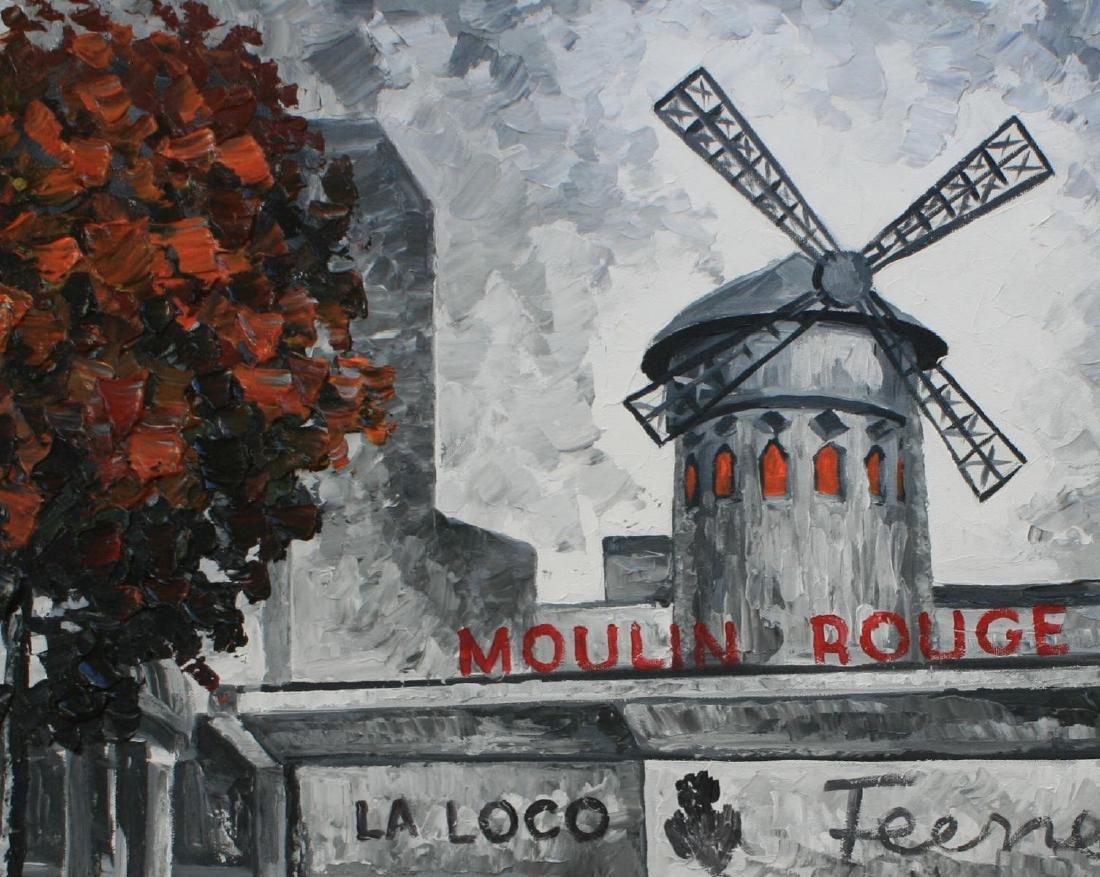 "Alexander Antanenka ""Moulin Rouge"" Original Acrylic on - 2"