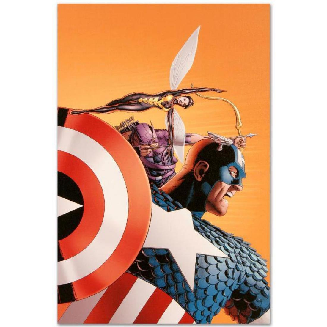 """""""Avengers #77"""" Limited Edition Giclee on Canvas by John"""