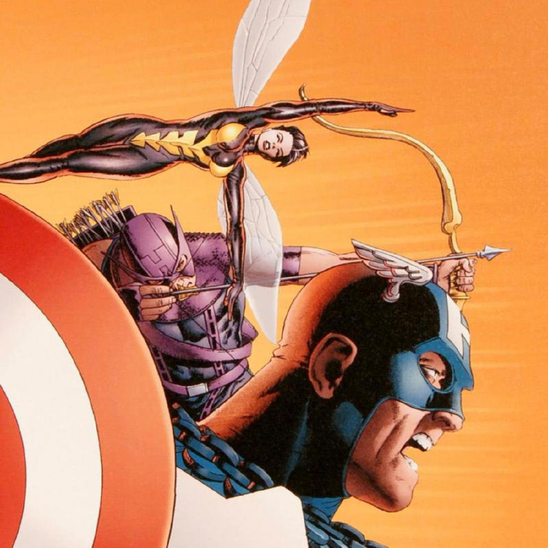 """""""Avengers #77"""" Limited Edition Giclee on Canvas by John - 2"""