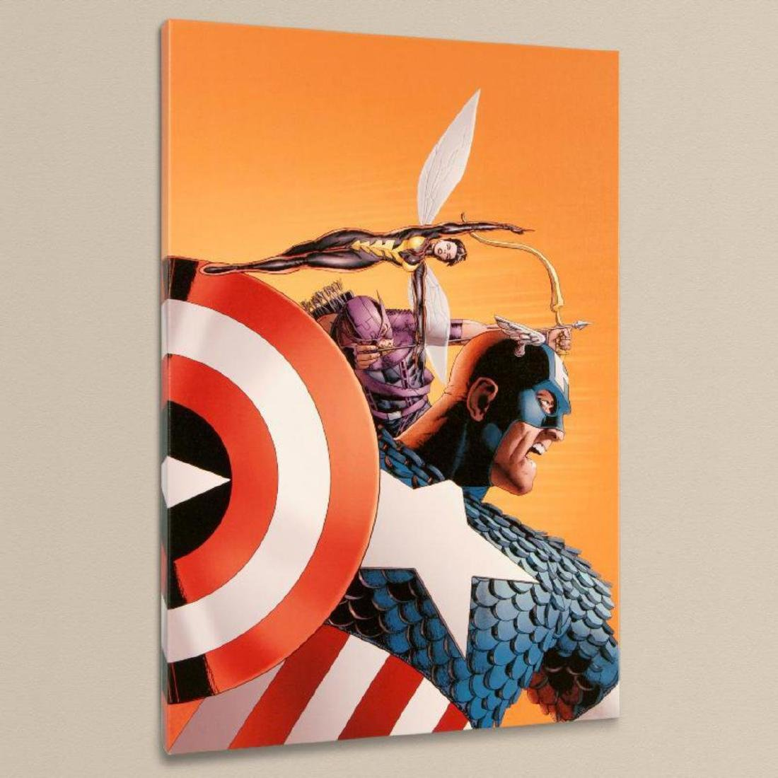 """""""Avengers #77"""" Limited Edition Giclee on Canvas by John - 3"""
