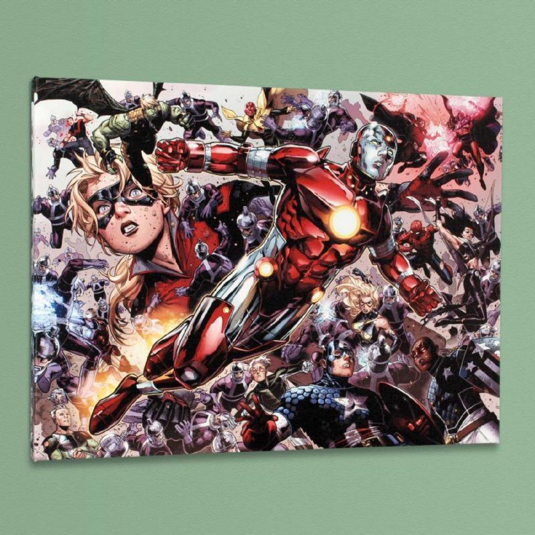 """""""Avengers: The Children's Crusade #5"""" Limited Edition - 3"""