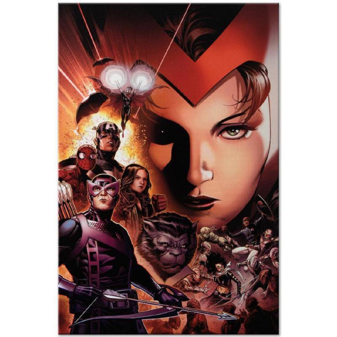 """""""Avengers: The Children's Crusade #6"""" Limited Edition"""