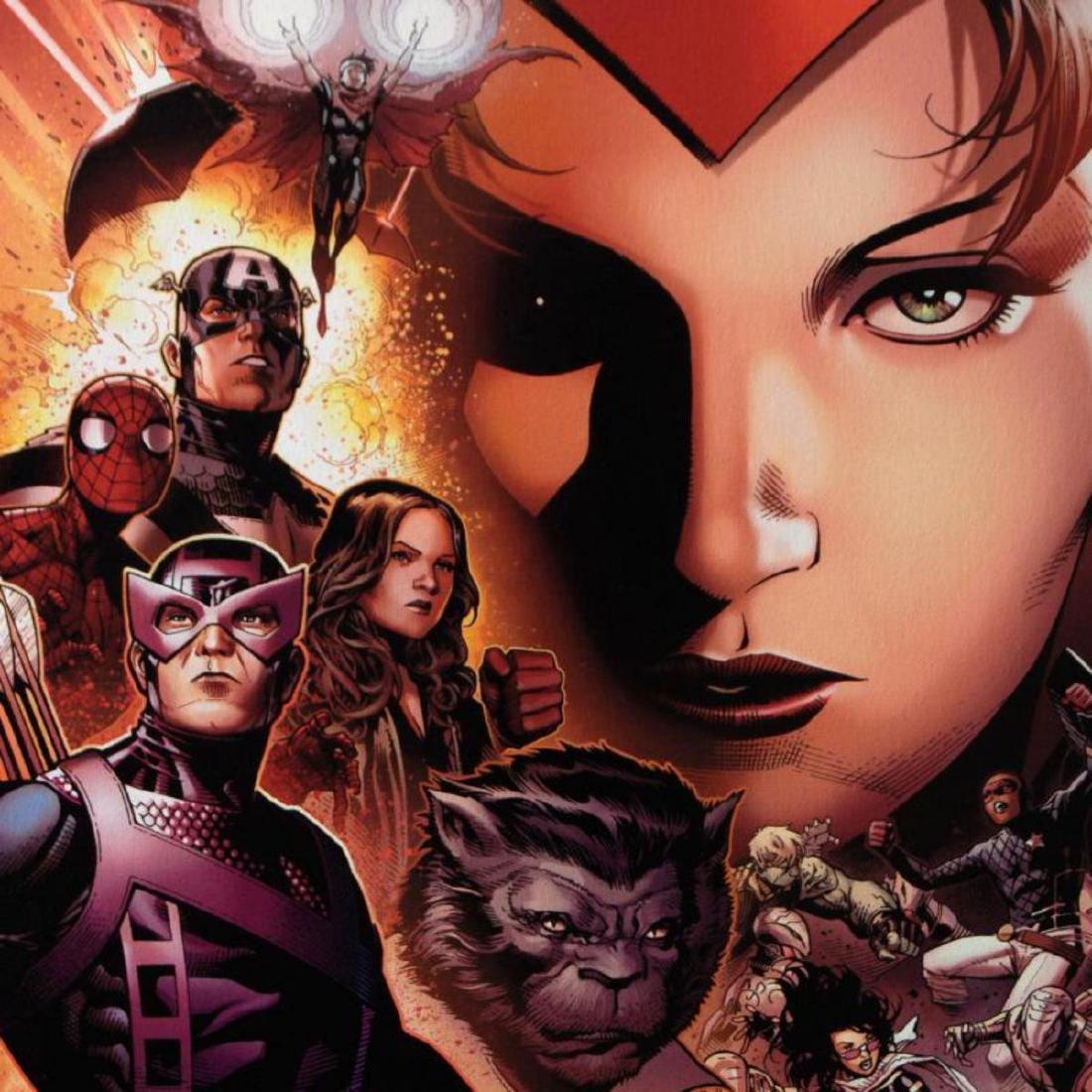 """""""Avengers: The Children's Crusade #6"""" Limited Edition - 2"""