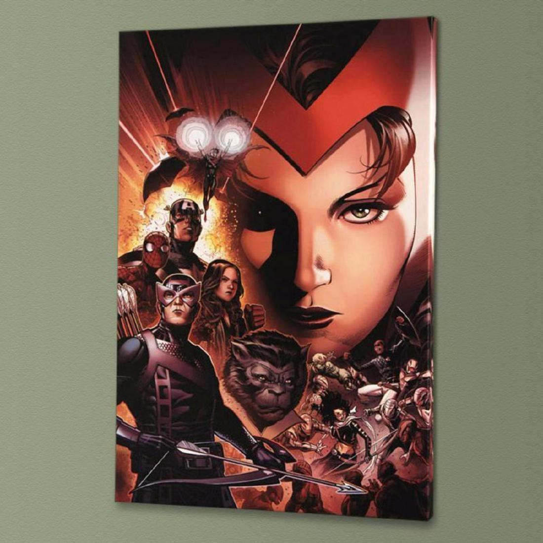 """""""Avengers: The Children's Crusade #6"""" Limited Edition - 3"""