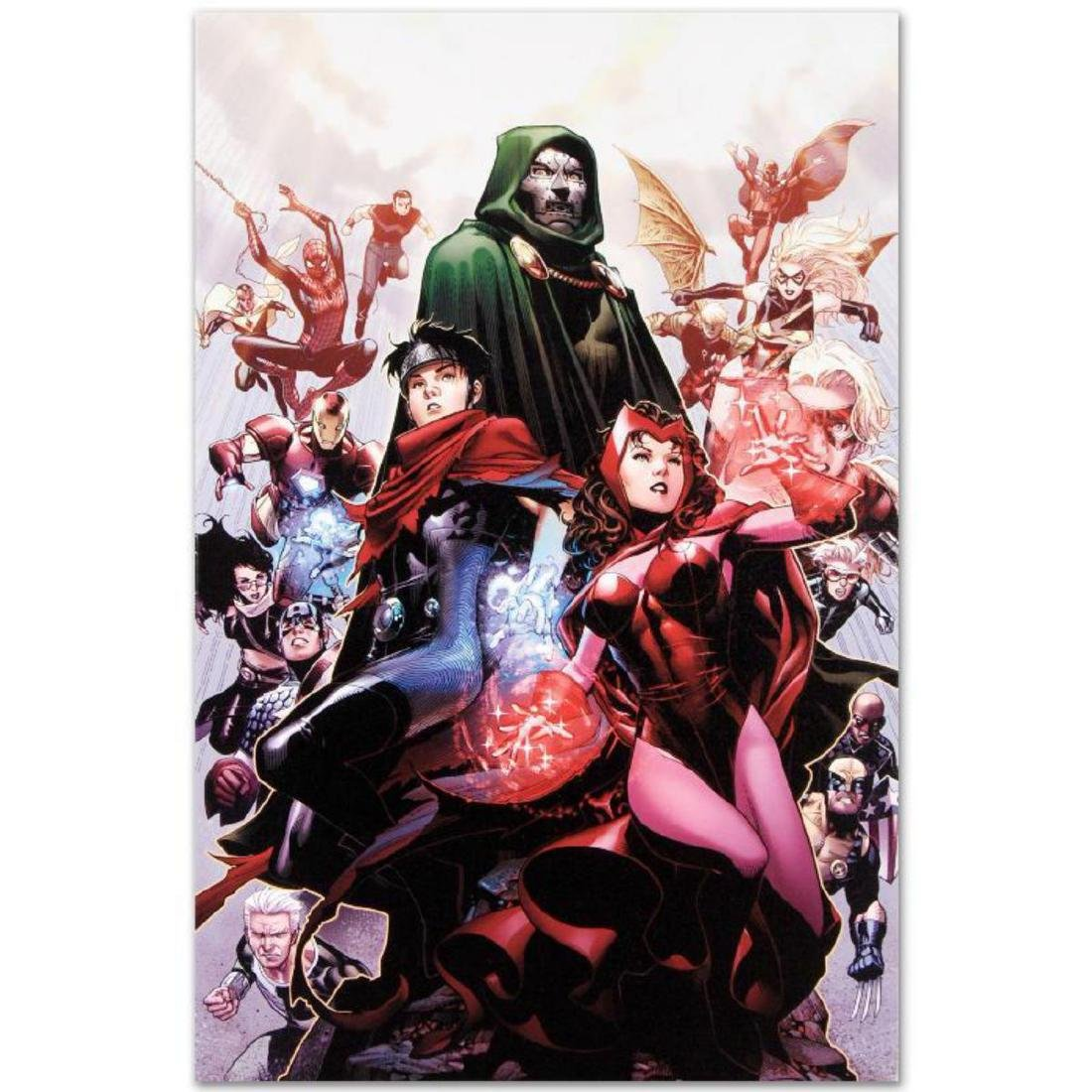 """""""Avengers: The Children's Crusade #4"""" Limited Edition"""