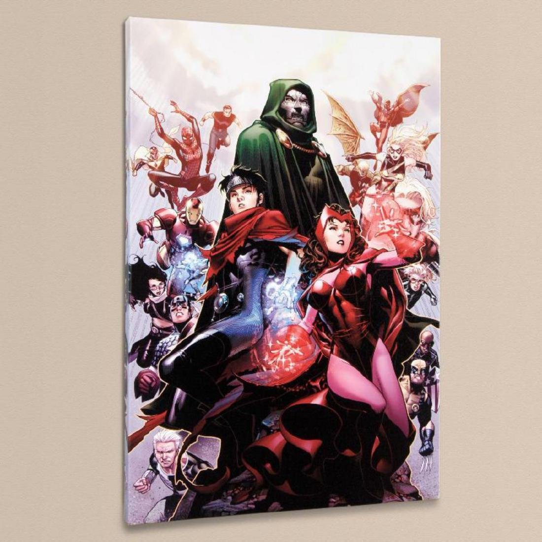 """""""Avengers: The Children's Crusade #4"""" Limited Edition - 3"""